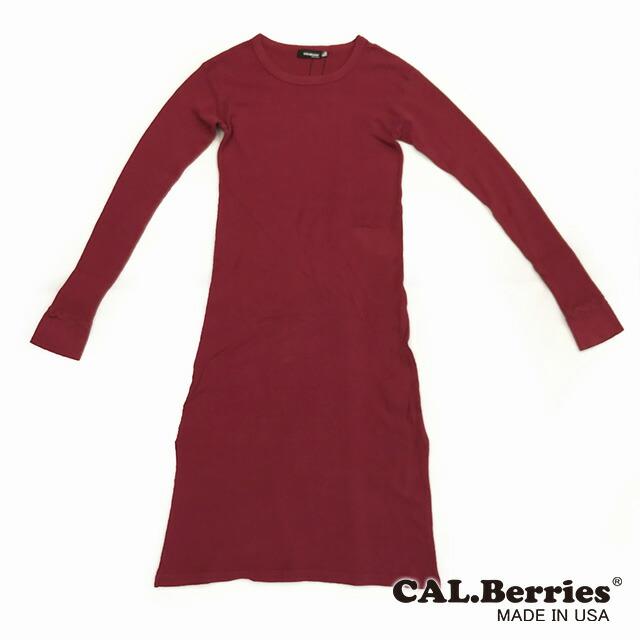 [CAL Berries]サーマルワンピースドレス