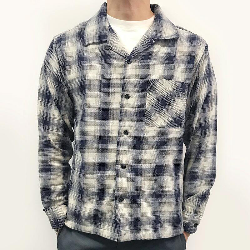 [FIVE BROTHER]ライトネル L/S ワンナップシャツ