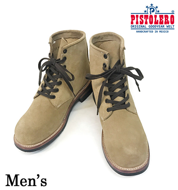 [PISTOLERO]6INCH PLAIN TOE LACE UP(Men's)