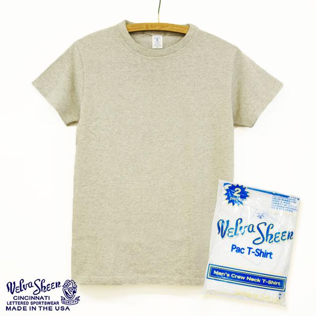 [Velva Sheen]2パックTシャツ クルーネック