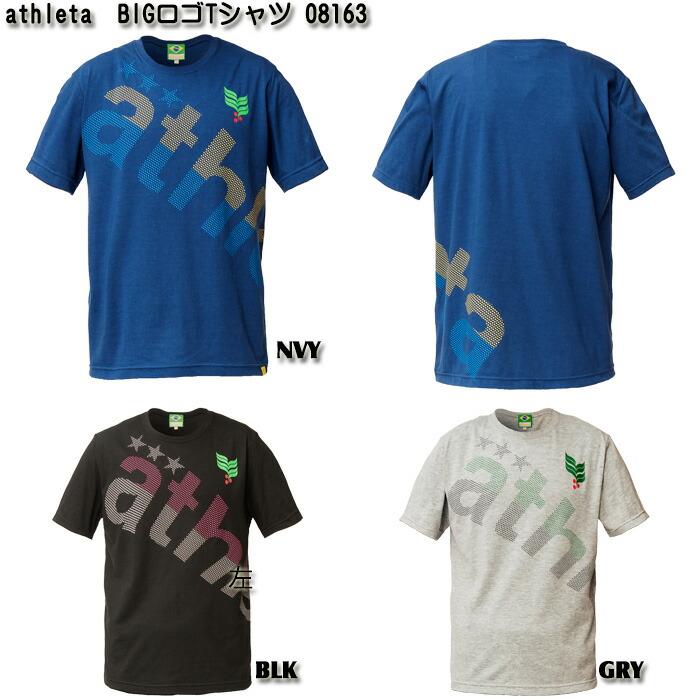 【athleta】BIGロゴ Tシャツ【レディース】