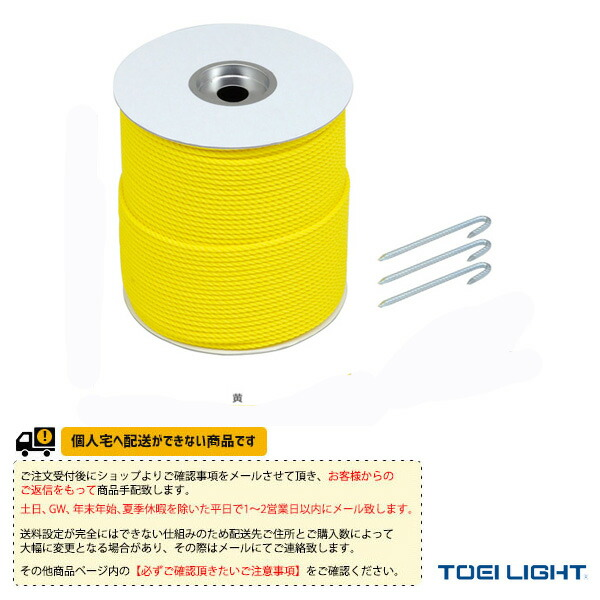 [送料別途]グランドロープ6×300(7)/クイG-1591 100本付(G-1623)