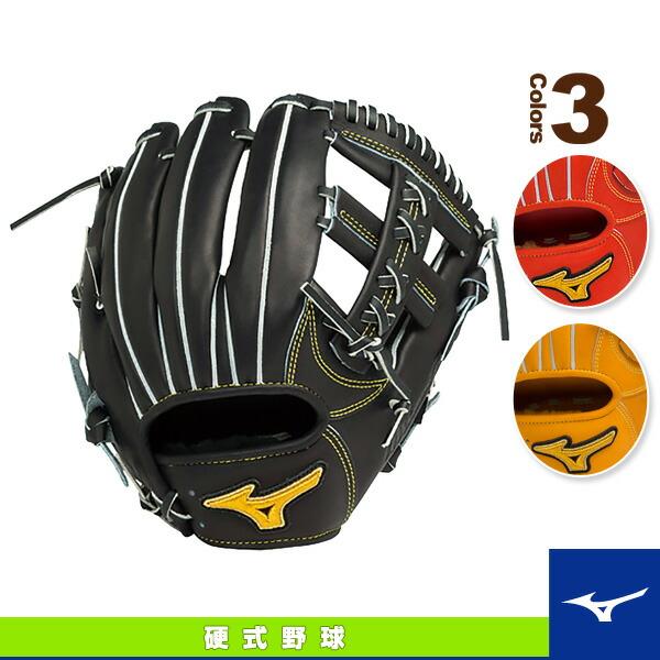 ミズノプロ スピードドライブテクノロジー/硬式・内野手(4/6)用グラブ/ポケット中央浅めタイプ(1AJGH14033)