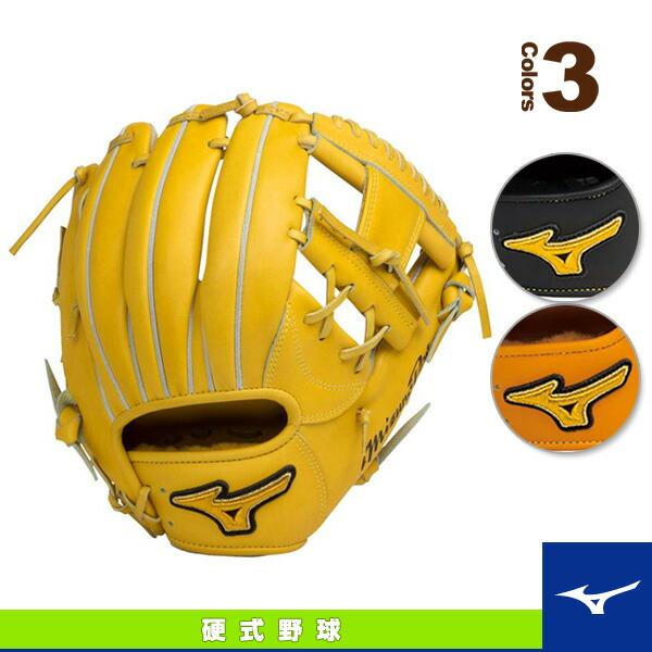 ミズノプロ スピードドライブテクノロジー/硬式・内野手用グラブ(4/6)/ポケット中央浅めタイプ(1AJGH14103)
