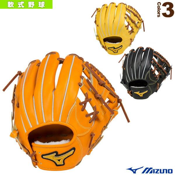 ミズノプロ フィンガーコアテクノロジー/軟式・内野手(4/6)用グラブ/ポケット正面タイプ(1AJGR16013)