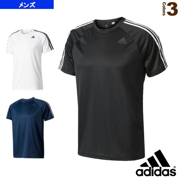 D2M トレーニング3ストライプスTシャツ/メンズ(BVA80)