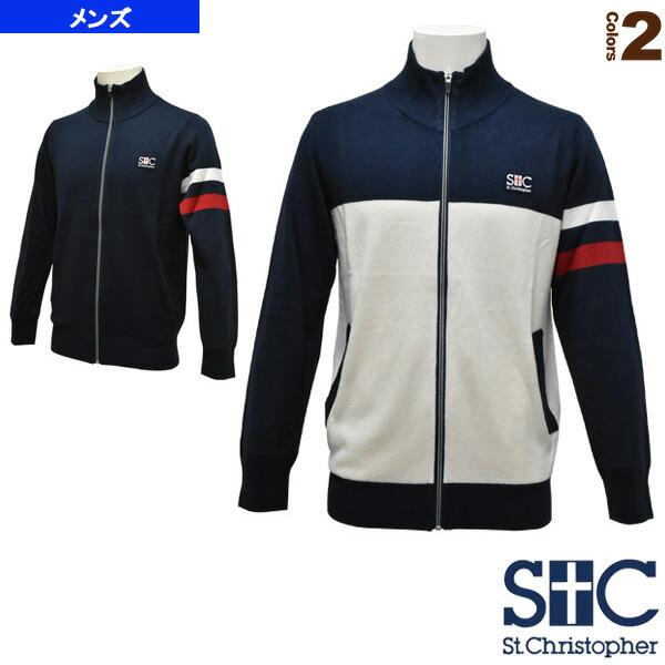 ニット ジップアップジャケット/メンズ(STC-AGM5023)