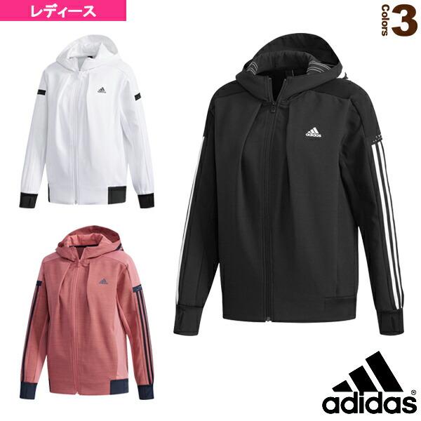 W adidas 24/7ウォームアップフーディー/レディース(FKK17)