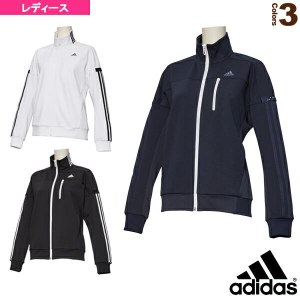W adidas 24/7 ウォームアップジャケット/レディース(FKK19)
