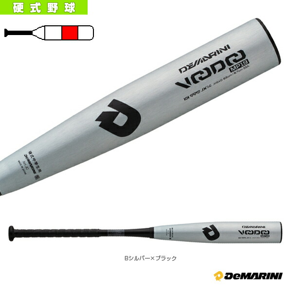 【予約】ディマリニ/ヴードゥ MP19/ハーフ アンド ハーフ/中学硬式用バット(WTDXJHSVD)