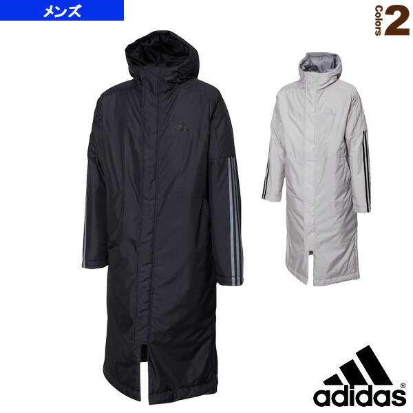 BOS Long 3-Stripes Parka/ロングパーカー/メンズ(GDT81)
