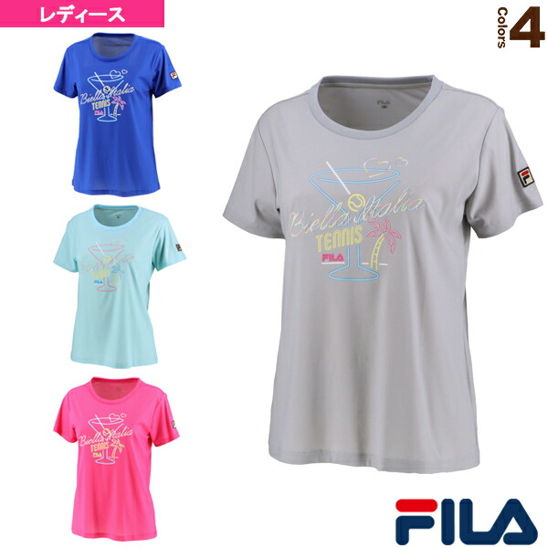 グラフィックTシャツ/レディース(VL2136)