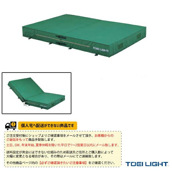 [送料お見積り]防水ポリエステル帆布二つ折りエバーマット屋内外兼用/200×400×40cm(G-1549)