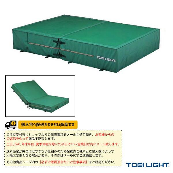 [送料別途]防水ポリエステル帆布上部メッシュ・二つ折りエバーマット屋内外兼用/200×400×30cm(G-1558)