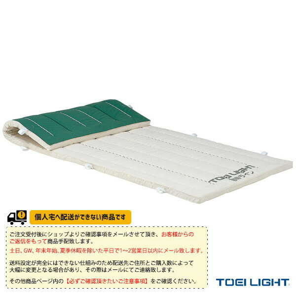 [送料別途]5cm厚ノンスリップ指導ライン入り合成スポンジマット 9号帆布/90×360×5cm(T-1976)