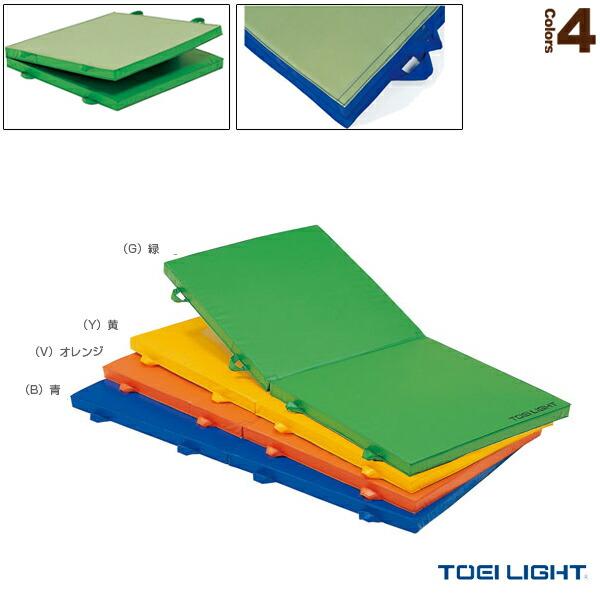 [送料別途]屋内外兼用ノンスリップマットF/防水/二つ折り/90×180×5cm(T-1309)