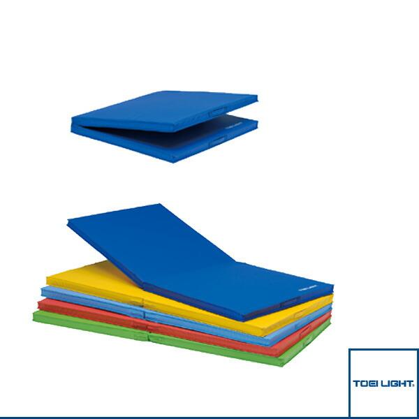 [送料別途]二つ折り屋外用カラーマット/90×180×5cm(T-1985)