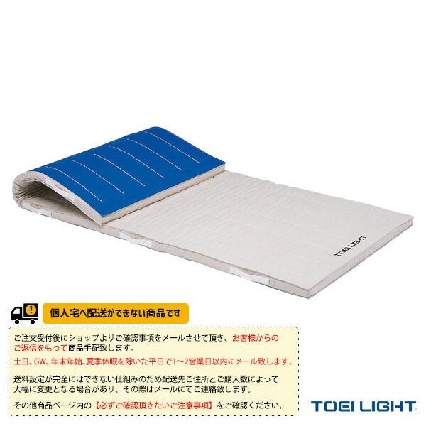 [送料別途]5cm厚ノンスリップコンビネーションマット 9号帆布】120×240×5cm(T-2364)