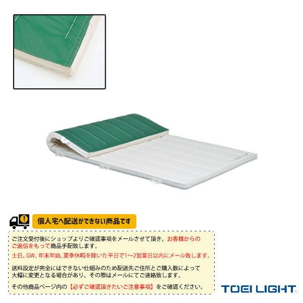 [送料別途]5cm厚ノンスリップ合成スポンジマット 9号帆布/120×600×5cm(T-2472)