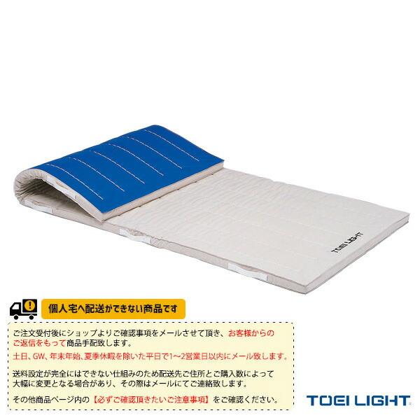 [送料別途]6cm厚ノンスリップ合成スポンジマット 9号帆布/120×300×6cm(T-2693)