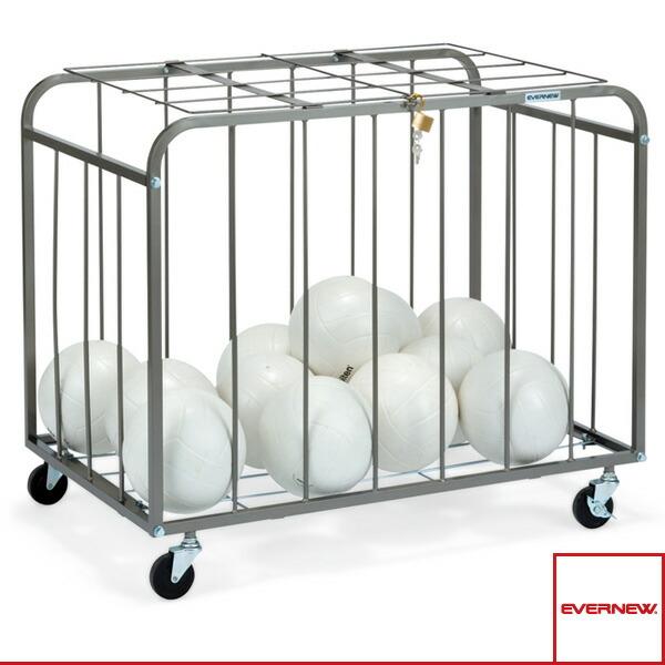 [送料別途]ボール整理カゴ 角-1フタ付/屋内用(EKE765)
