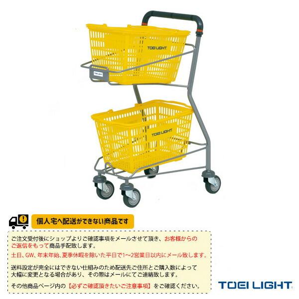 [送料別途]テニスボールキャリー/カゴ付(B-2551)
