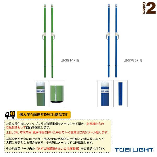 [送料別途]バドミントン支柱TJ40(検)/2本1組(B-3914/B-5785)