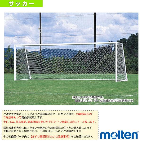 [送料お見積り]サッカーゴール用ネット(一般用)/2枚セット(ZFN10)