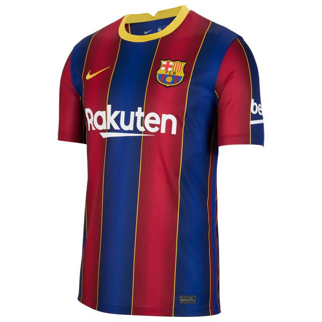 サッカー レプリカユニフォーム ナイキ FC バルセロナ 2020-2021 スタジアム ホーム 半袖 ブルー <BR>【NIKE2020FW】 <BR>CD4232-456