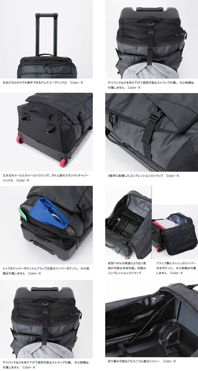 b9f5656fa51c ウィーラーバッグ ラゲッジバッグ /旅行バッグ キャリーバッグ ノース ...
