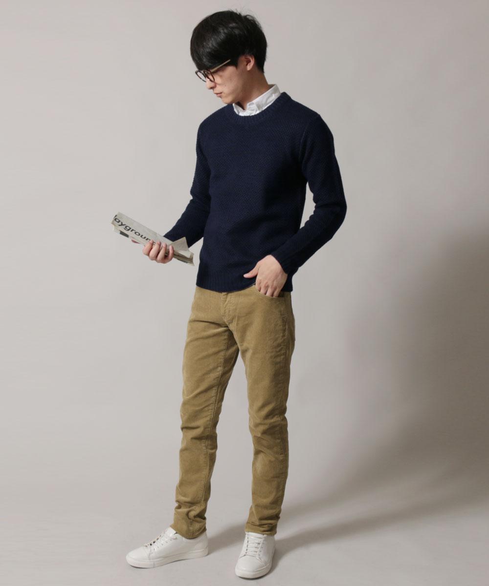 冬 日本製 21131 メンズファッション ストレッチ Johnbul ジョンブル パンツ 秋 ポケット コーデュロイ 春 ボトム 5P パンツ メンズ