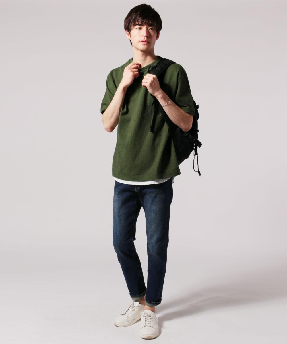 大学生 ブランド 夏服コーデ