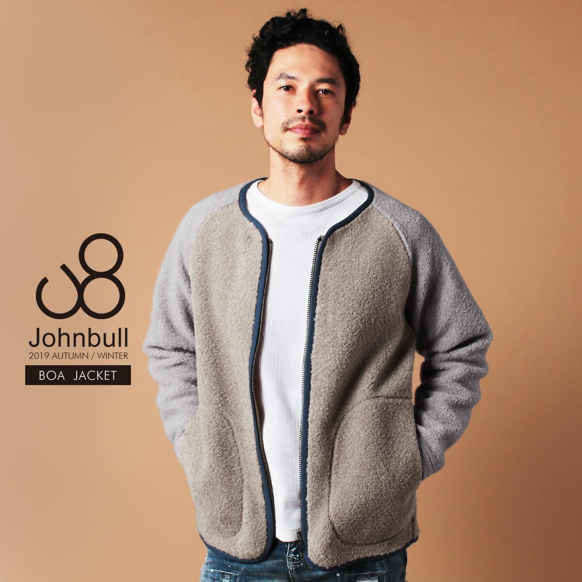Johnbull(ジョンブル)メンズボアジャケット
