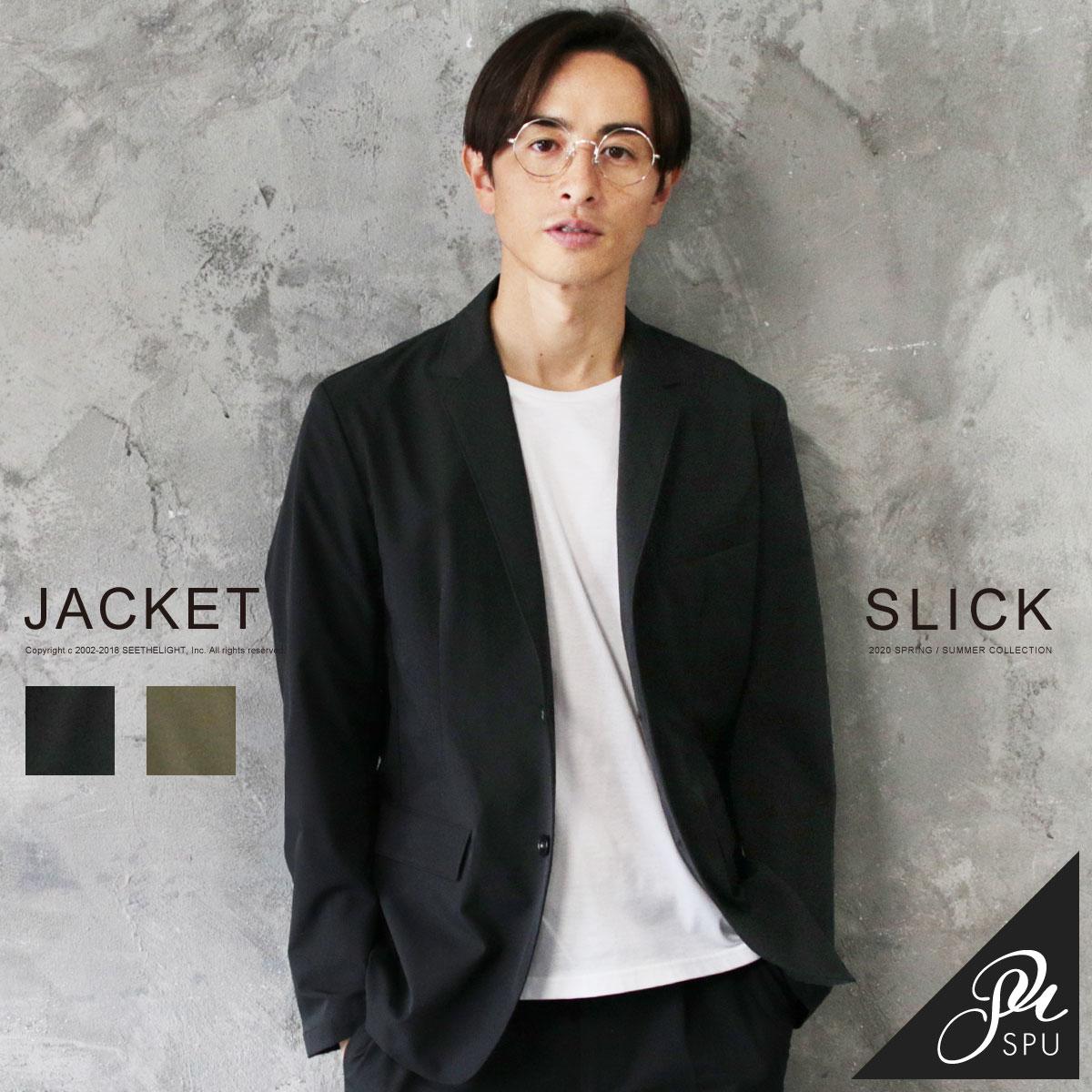 SLICK(スリック)メンズ テーラードジャケット
