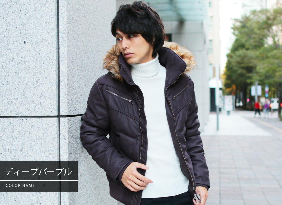 WET-PU ダウンミックス ジャケット アウター