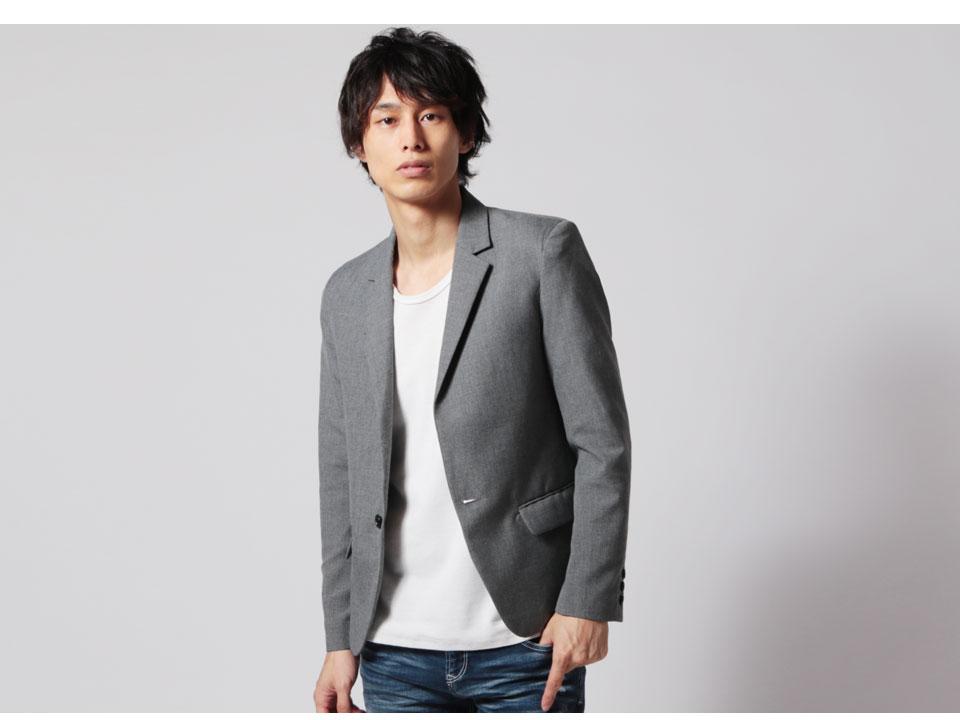 高品質で美シルエットの日本製のテーラードジャケット