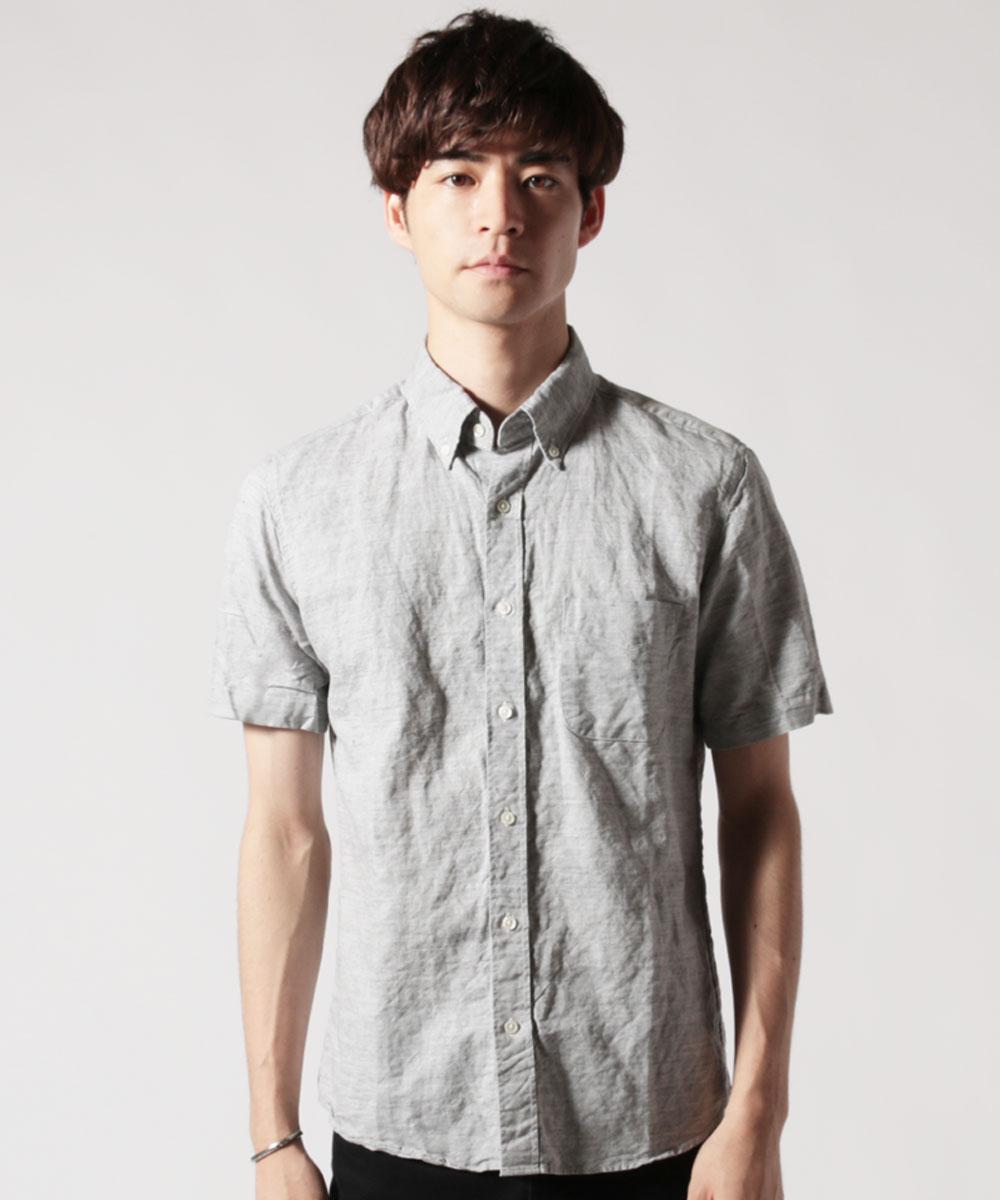 メンズ定番半袖シャツ