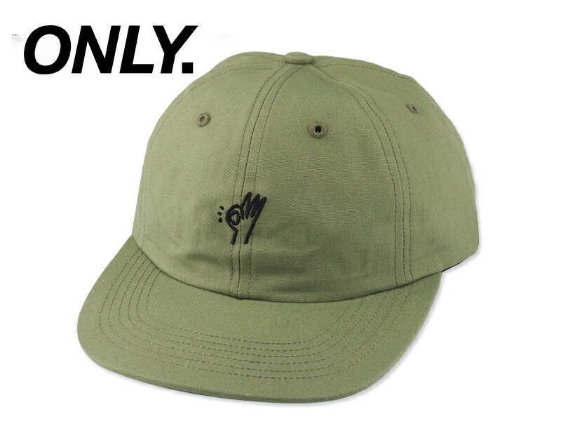 Only NY オンリーニューヨーク OK POLO HAT OLIVE オーケー ポロ キャップ オリーブ 15783  メンズ レディース NY  91040dc79a7d