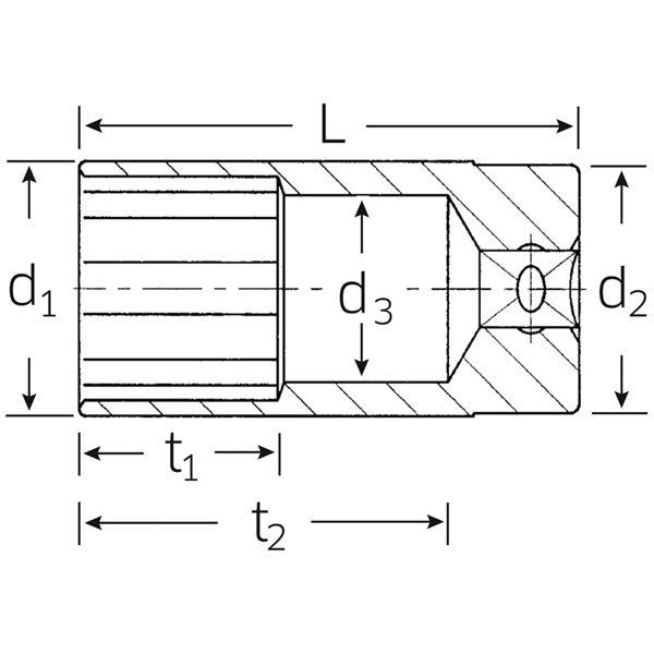 610g/ 直径46x310mm無反動ハンマー エスコ (品番:EA575WT-46)