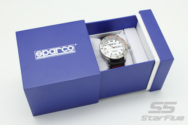 sparco 時計 ダイバーズ カーボン