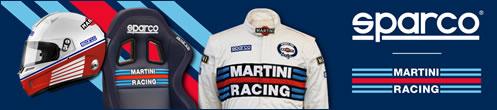 スパルコ,マルティーニ,レーシング,コラボ,スーツ,グローブ,ヘルメット,シート,sparco,martini,racing