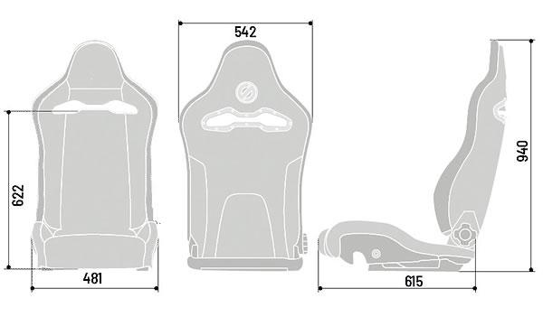 スパルコ,spx,バケットシート,セミバケ,サイズ,寸法,sparco
