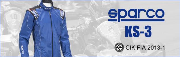 sparco スパルコ レーシングスーツ レーシングカート・走行会用 KS-3 PC用説明