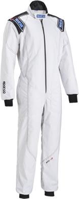 sparco スパルコ レーシングスーツ レーシングカート・走行会用 KS-3 ホワイト