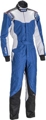 スパルコ レーシングスーツ KS-5 ブルー ホワイト