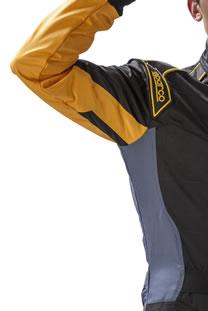 スパルコ レーシングスーツ KS-5 脇