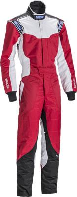 スパルコ レーシングスーツ KS-5 レッド