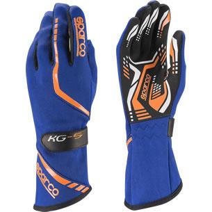 スパルコ レーシンググローブ トーピード KG5 ブルー オレンジ