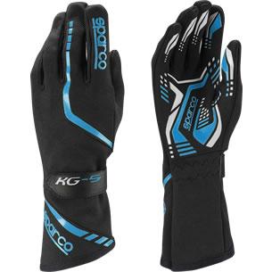 スパルコ レーシンググローブ トーピード KG5 ブラック ブルー