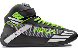 スパルコ レーシングシューズ KB3 ブラックグリーン